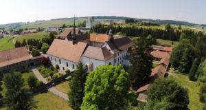 18 août 2018: Vernissage du Clou rouge pour l'Abbaye de la Fille-Dieu à Romont