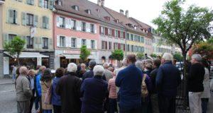 1er et 2 septembre 2018- Visite de la Grand-Rue de Bulle et de la rue de la Sionge